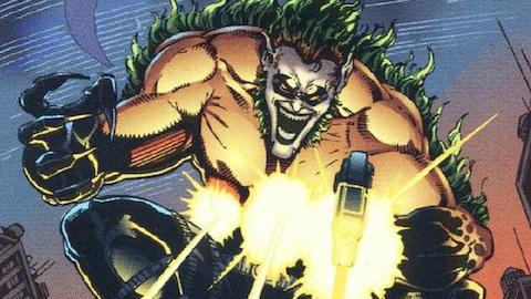 Supervillain origins: Hyena