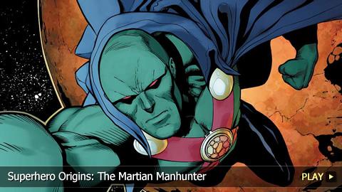 Superhero Origins: The Martian Manhunter