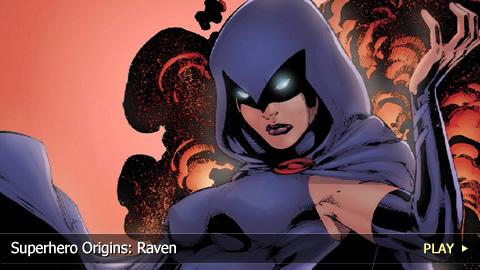Superhero Origins: Raven