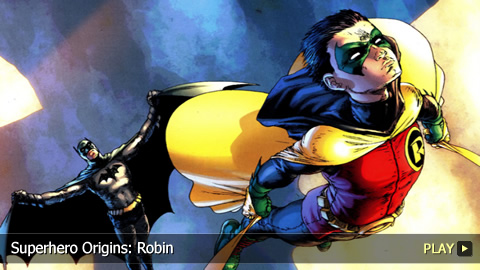 Superhero Origins: Robin