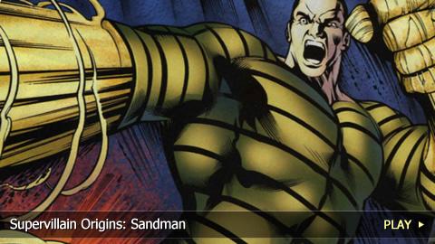 Supervillain Origins: Sandman