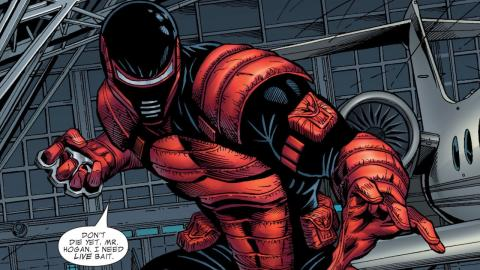 Supervillain Origins: Spymaster