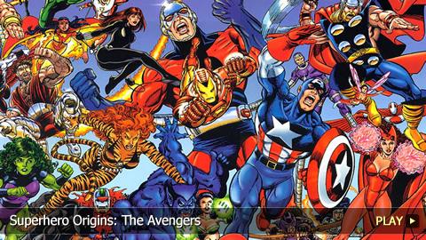 Superhero Origins: The Avengers