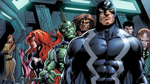 Superhero Origins: The Inhumans