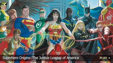 Superhero Origins: The Justice League of America