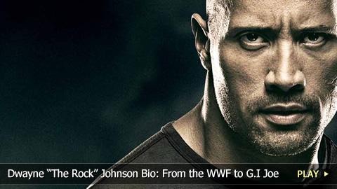 "Dwayne ""The Rock"" Johnson Bio: From the WWF to G.I Joe"