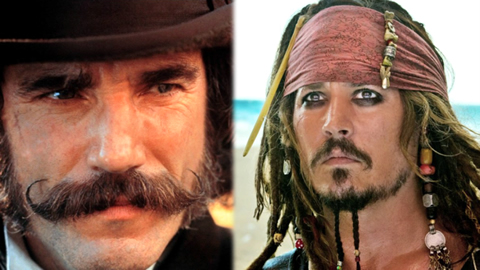 Top 10 Badass Movie Mustaches and Beards