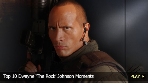Top 10 Dwayne 'The Rock' Johnson Moments