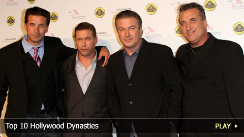 Top 10 Hollywood Dynasties
