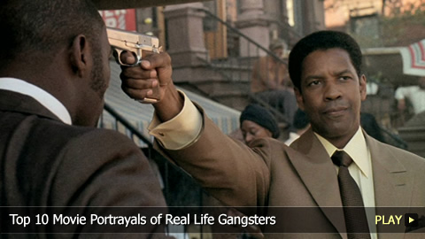 Top 10 Movie Portrayals of Real Life Gangsters