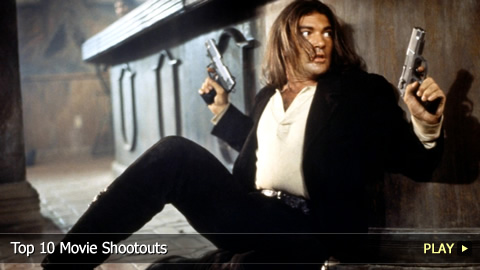 Top 10 Movie Shootouts