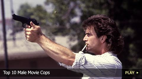 Top 10 Male Movie Cops