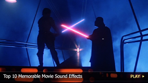Top 10 Memorable Movie Sound Effects