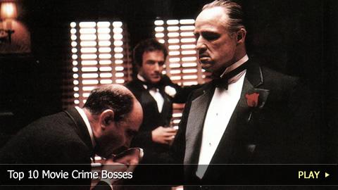 Top 10 Movie Crime Bosses