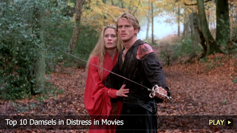 Top 10 Damsels in Distress in Movies