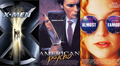 Top 10 Movies of 2000