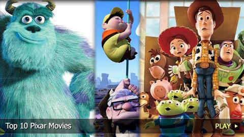 Top 10 Pixar Movies