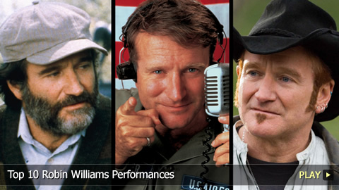 Top 10 Robin Williams Performances