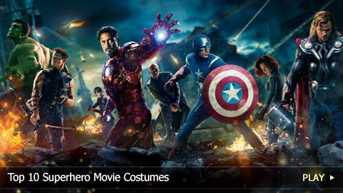 Top 10 Superhero Movie Costumes
