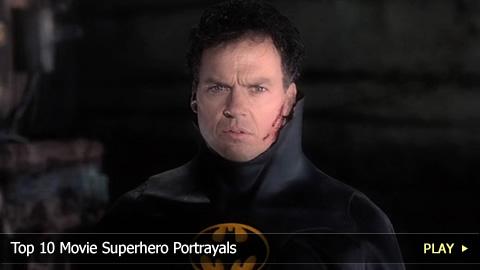 Top 10 Movie Superhero Portrayals