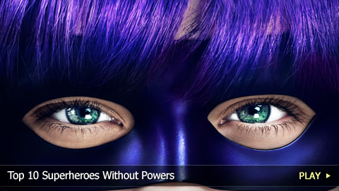 Top 10 Superheroes Without Powers