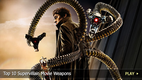 Top 10 Supervillain Movie Weapons