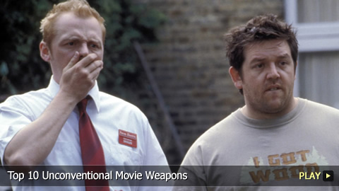 Top 10 Unconventional Movie Weapons