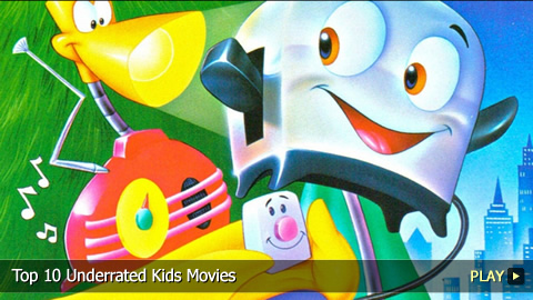 Top 10 Underrated Kids Movies