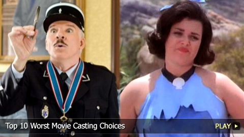 Top 10 Worst Movie Casting Choices