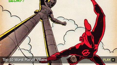 Top 10 Worst Marvel Villains