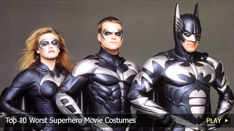 Top 10 Worst Superhero Movie Costumes