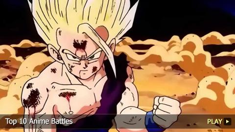 Top 10 Anime Battles
