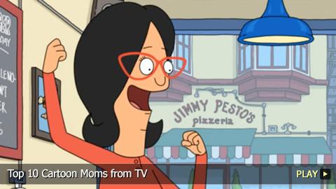 Top 10 Cartoon Moms from TV