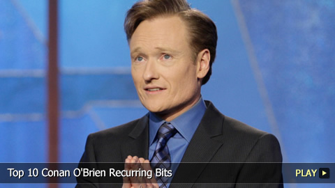 Top 10 Conan O'Brien Recurring Bits