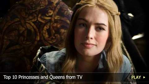 Top 10 Princesses and Queens from TV