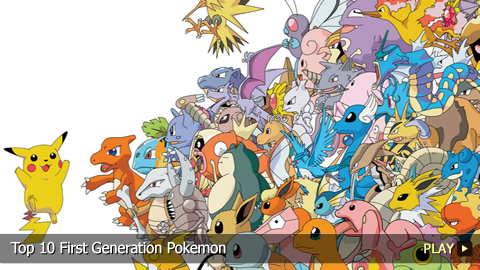 Top 10 First Generation Pokemon