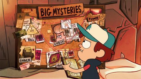 Top 10 Gravity Falls Mysteries