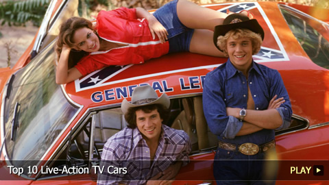 Top 10 Live-Action TV Cars