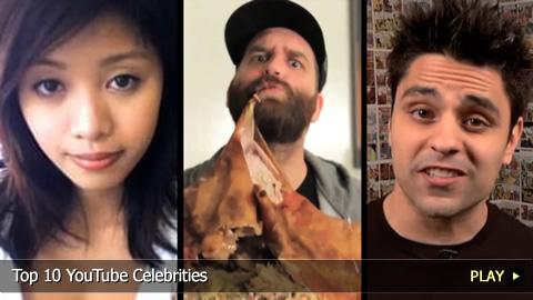 Top 10 YouTube Celebrities
