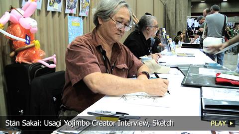 Stan Sakai: Usagi Yojimbo Creator Interview, Sketch