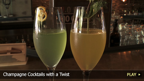 Champagne Cocktails with a Twist