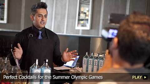 Perfect Cocktails for the Summer Olympic Games