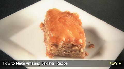 How to Make Baklava: Recipe