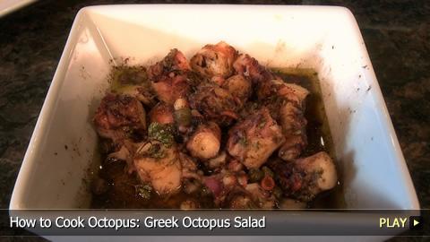 How to Cook Octopus: Greek Octopus Salad