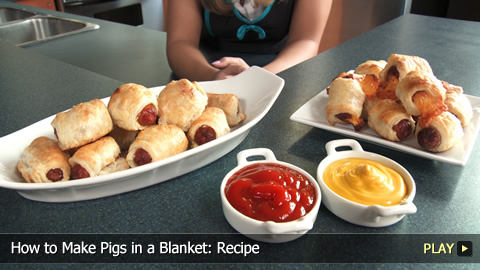 How to Make Pigs in a Blanket: Recipe