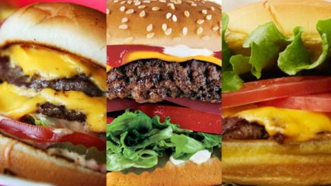 Top 10 Fast Food Hamburgers