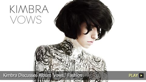Kimbra Discusses Album 'Vows,' Fashion