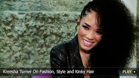 Kreesha Turner On Fashion, Style and Kinky Hair