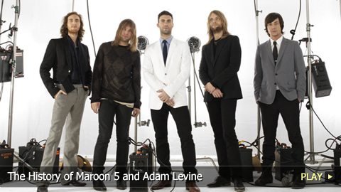The History of Maroon 5 and Adam Levine