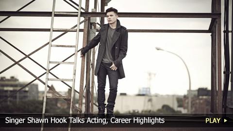 Singer Shawn Hook Talks Acting, Career Highlights